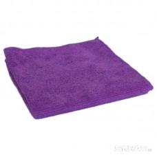 Салфетка из микрофибры M-02, цвет: фиолетовый, размер 30*30см,