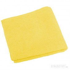 Салфетка из микрофибры M-02, цвет: желтый, размер: 30*30см