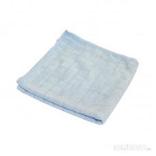 Салфетка из микрофибры M-03 вафельная, цвет: голубой, размер: 30*30 см
