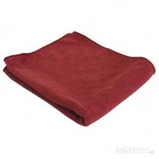 Тряпка для пола из микрофибры M-02F, цвет: бордовый, размер: 40*50 см