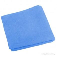 Тряпка для пола из микрофибры M-02F, цвет: синий, размер: 40*50 см