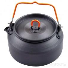 Чайник походный с крышкой CK-206, 1 л, анодированный алюминий
